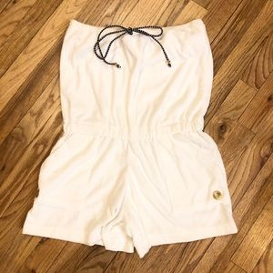Dotti Terry Cloth Cover Up/Romper NWOT